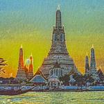 Buddhist Sunset thumbnail