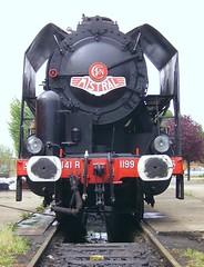 141-R-1199-f (Didier Duforest) Tags: railway steamlocomotive 141r locomotivevapeur villeneuvesaintgeorges 141r1199