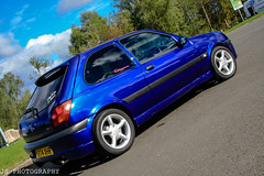 JS 0135 (js.photography1990) Tags: blue sky ford car wheel clouds scotland cool fiesta central imperial modified maintained falkirk mk5 zetecs