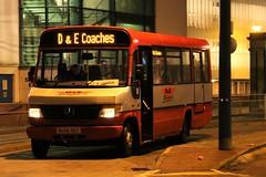 D&E Coaches, Inverness BU56DEC (busmanscotland) Tags: de mercedes dec beaver mercedesbenz mb coaches inverness vario plaxton o814 bu56 bu56dec