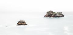 the Ocean Rocks sisters (cfaobam) Tags: travel light nature water rock stone canon landscape photography eos meer wasser europa europe long exposure magic steine national highkey landschaft stein geographic felsen hintergrund 6d langzeitbelichtung weiser seq cfaobam