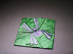 In the Frame (IG: bartfartsart) Tags: art paper insect fun spider origami box craft hobby frame polygon interest 2015