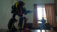 WP_20150524_005 (demon14082001) Tags: robot lego super technic combine bionicle mech shuriken moc sentai tokusatsu gattai ninninger shurikenjin