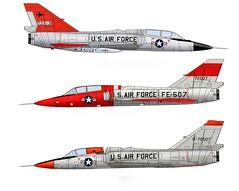 F-106B Delta Dart (Ricos 2015) Tags: airplane military delta dart convair f106