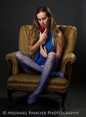 Valentine's Day Rose (Michael Pancier Photography) Tags: blue sexy rose nude us model unitedstates florida modeling lingerie valentine blonde boudoir doral valentinesday bodystocking travelphotography commercialphotography impliednude naturephotographer editorialphotography graybackground modelingportfolio michaelpancierphotography landscapephotographer girlwithrose fineartphotographer michaelapancier wwwmichaelpancierphotographycom berenikavolk