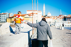 Hold my hand. (If not NOW... when?) Tags: city travel light sea canon europe euro slovenia piran makroplanart250 5d3 makroplanar502ze 5diii