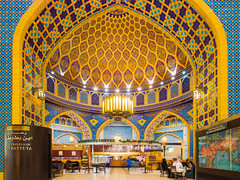 IBM (marco ferrarin) Tags: travel coffee architecture dubai islam explorer uae ibm persia starbucks arab ibnbattuta ibnbattutamall
