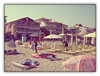 Olympic Beach, Greece, 2007 (cod_gabriel) Tags: beach sand smoke doug resort greece grecia seasideresort nisip plaja olympicbeach plajă statiune staţiune pixlromatic photogramio