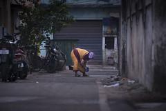 Mylai streets #1 (Mahendiran Manickam) Tags: mahemanickphotography mylapore madras tamilnadu morning rangoli kolam margazhi thai street agraharam 28300 nikon d800