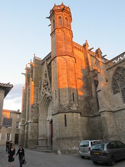 Cattedrale (Kapo Konga) Tags: francia carcassonne ferie cattedrale languedocroussillon citta cittamedievale