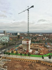 Coventry City Council's new headquarters at Friargate under construction (sichunlam) Tags: coventry sichunlam mintchocicecream friargate friargatecoventry siishell
