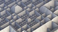 Mendelbulb 22022016 - 43 Labyrinthes (ixus960) Tags: 3d chaos mineral fractal fractale artfractal mendelbrot mandelbulb mendelbulb