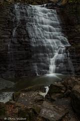 Rockway Falls 2 (awaketoadream) Tags: autumn ontario canada fall water vertical waterfall december niagara falls southern lincoln region cascade escarpment rockway