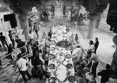 Behind the scenes of the banquet from Temple of Doom (Tom Simpson) Tags: film vintage table banquet behindthescenes indianajones stevenspielberg templeofdoom thetempleofdoom
