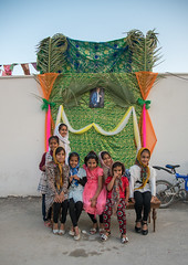 girls in front of a set for a wedding in the street, Hormozgan, Kushkenar, Iran (Eric Lafforgue) Tags: wedding people childhood vertical kids children outdoors togetherness clothing asia iran muslim islam traditional ceremony culture traditions marriage persia folklore east celebration entertainment arab textiles cheerful custom eastern groupofpeople cultures cultural islamic ethnicity middleeastern persiangulf traditionalculture traditionalclothing hormozgan lookingatcamera   5people  iro straitofhormuz  colourpicture  kushkenar irandsc06100