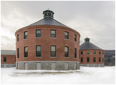 Vermont State Hospital. Waterbury, VT. (kurttavares) Tags: winter storm architecture hospital insane construction vermont state hurricane tropical irene renovation lunatic asylum vt waterbury psychiatric