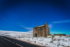 Aurora Glows, Hartside UK (tristantinn) Tags: uk winter light england moon snow nature night stars landscape lights nightscape astro astrophotography aurora cumbria northern northernlights borealis hartside deepsky skly