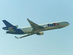 N628FE, Federal Express, FedEx, McDonnell Douglas, MD-11F (Shivendra Shukla) Tags: fedex mcdonnelldouglas federalexpress md11f n628fe