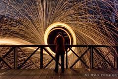 DSC_3961 (Ray Skwire) Tags: light hot color night fire nikon steel heat sparks steelwool d7200
