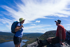 Cradle Mountain, Tasmania (Quench Your Eyes) Tags: park travel nationalpark australia bushwalking tasmania hikers aussie tassie biketour cradlemountain cradlemountainnationalpark bushwalkers
