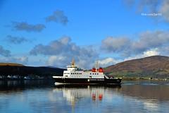 (Zak355) Tags: ferry reflections scotland scottish calmac bute rothesay isleofbute mvbute