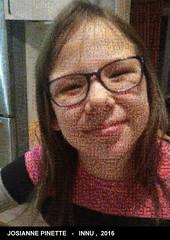 Le selfie de Josianne Pinette pour participer à votre tour: ashu-takusseu.com