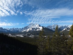 G8 Summit - Winter Ascent - Interesting clouds above Mt Kidd in the Kananaskis valley (benlarhome) Tags: canada kananaskis rockies alberta rockymountain cloudscapes g8 nwn g8summit g8mountain