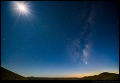 Conjuncion de planetas y Luna