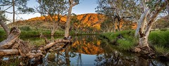 Sunrise at Ellery Creek (Mark McLeod 80) Tags: rural creek sunrise ellery desert nt pano australia outback northernterritory centralaustralia macdonnellranges kenduncan markmcleod saroadtrip markmcleodphotography