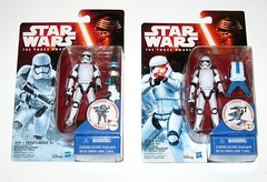 star wars the force awakens first order stormtrooper build a weapon snow mission basic action figure hasbro 2015 2 different card art and b.a.w variants versions mosc (tjparkside) Tags: new snow toy toys star order force 1st action stormtroopers rifle first 7 disney staff seven darth combine weapon backpack figure rey stormtrooper mission accessories wars vader friday build figures xii base basic episode blaster hasbro blasters tfa 2015 awakens starkiller theforceawakens