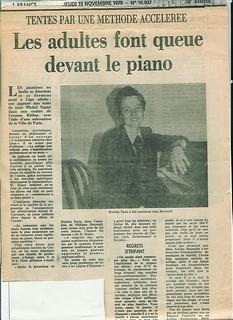 MICHEL SOGNY PRESSE L'AURORE 15 NOVEMBRE 1979