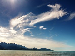 kaikoura cloudscape (mugley) Tags: travel sea newzealand sky sun seascape mountains clouds digital landscape iso200 waves zoom 1800s kitlens olympus canterbury f10 nz flare southisland kaikoura omd southpacificocean 14mm cloudage 1442 em5 kaikouraranges stoppeddown mirrorless zoomedout micro43 microfourthirds mzuiko1442mmf3556iir olympusem5