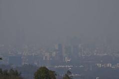 Ciudad Contaminada. Ciudad de Mexico. (toltequita) Tags: smog sos contaminacion ciudaddemexico polution cdmx