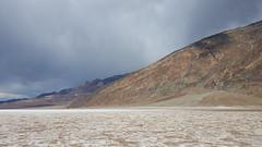 Saltwater flats in Death Valley