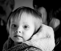 77/366 Pensive - 366 Project 2 - 2016 (dorsetpeach) Tags: portrait monochrome pensive 365 monkeyworld 2016 366 aphotoadayforayear 366project second365project