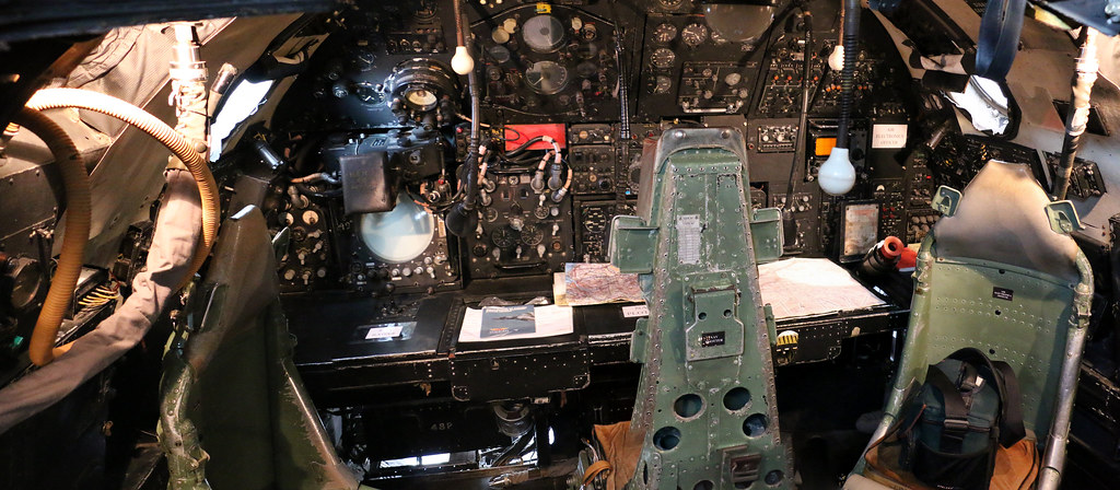 The World's Best Photos of cockpit and vulcan - Flickr ... B2 Cockpit Panorama