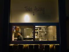 Pasta Take Away (carlosromonbanogon) Tags: street people food florence shadows samsung away pasta take amateur nx10