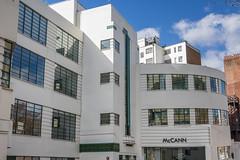 Art Deco, Bloomsbury (Ken Barley) Tags: london artdeco herbrandstreet wallisgilbert daimlerhiregarage