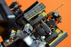 Decibelle_12 (Shadowgear6335) Tags: orange radio robot factory lego good technic hero bionicle mech moc shadowgear6335 bionicle2015