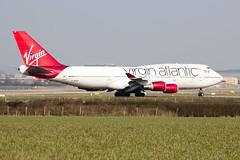 G-VAST Virgin Atlantic Airways Boeing 747-41R (amisbk196) Tags: uk flickr unitedkingdom aircraft aviation places boeing amis gatwick 2016 virginatlanticairways gvast 74741r importedkeywordtags