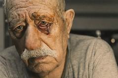 Untitled (georgekamelakis) Tags: family portrait people man color eye closeup greek blood eyes emotion greece crete cinematic emotive heraklion pappou georgekamelakis