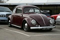1954 Volkswagen Beetle (davocano) Tags: brooklands carauction ovalbeetle historicsatbrooklands 729uxb