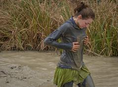 Wet ! (stevefge) Tags: girls people netherlands girl mud candid nederland viking endurance berendonck reflectyourworld strongviking