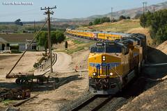 Special at Metz (samreevesphoto) Tags: california railroad up photography unionpacific farms metz salinasvalley varnish passengercars