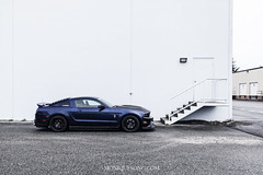 Ford Mustang on RTR wheels (MoniqueS Image) Tags: ford shelby mustang musclecar v6 rtr