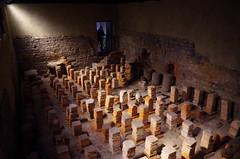 Hipocausto en las termas de Bath (Rafael Jimnez) Tags: inglaterra england bath termas imperioromano antiguaroma hipocausto hispocaustum
