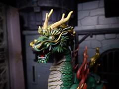 Eyes Left (ridureyu1) Tags: toy toys actionfigure qilin kirin kaiyodo toyphotography revoltech jfigure holybeast sonycybershotsonycybershotdscw690 kaiyodotakeyashikijizaiokimono