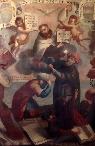 San Cirilo de Constantinopla, Andrés López, Templo del Carmen, Cdad. de México, CDMX.