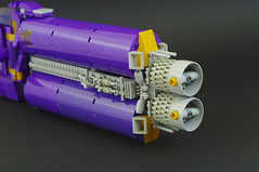 P    (02) (F@bz) Tags: sf purple lego space moc starfighter