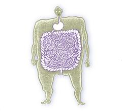 Omnivore (Don Moyer) Tags: moleskine ink notebook body drawing plumbing moyer brushpen digestion donmoyer